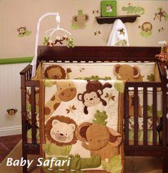 Beautiful Baby Safari Bedding