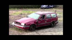 Undestructable Volvo doesnt care about crash tests/Solidna skandynawska ...