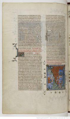Grandes Chroniques de France Fol 439v, 1375-1380, Henri du Trévou & Raoulet d'Orléans
