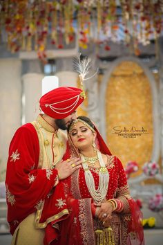 Couple Wedding Dress, Indian Wedding Couple, Wedding Couple Photos, Sikh Wedding, Wedding Men, Wedding Attire, Wedding Couples, Wedding Dresses, Wedding Goals