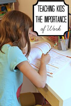 Afraid of raising a spoiled, entitled child? Here are some great parenting tips for teaching children the importance of work in your home now while they are young.