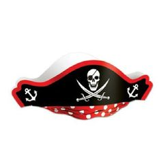 This Printed Pirate Hat would make a perfect party favor for a pirate birthday theme party