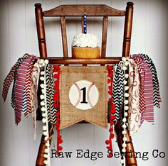 Hey, I found this really awesome Etsy listing at https://www.etsy.com/listing/527911727/baseball-birthday-highchair-high-chair