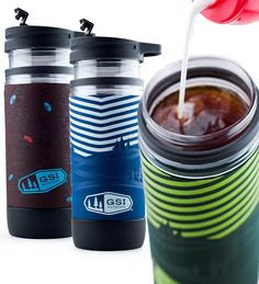 Enjoy yummy French Press coffee on the go with our GSI Outdoors Commuter Java Press, To-Go French Press