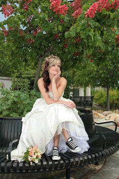 High heel #wedding #shoe alternatives for the boho-chic #bride