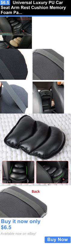 Luxury Cars: Universal Luxury Pu Car Seat Arm Rest Cushion Memory Foam Padded Support Pillow BUY IT NOW ONLY: $6.5