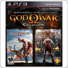 PS3 God Of War Collection R$54.90