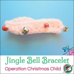 Learn, love and serve at home . Christmas Shoebox, Quick Crafts, Operation Christmas Child, Jingle Bells, Shoebox Ideas, Crochet Patterns, Homemade, Children, Bracelets