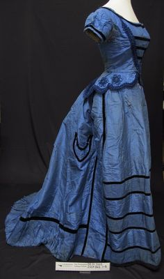 Ball gown c.1870's