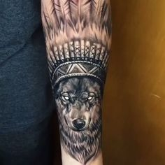 Wolf tattoo in black and gray - black and gray wolf of the Brazilian . - Wolf tattoo in black and gray – Black and gray wolf by Brazilian artist Douglas Scherer (douglass - Wolf Tattoos, Wolf Tattoo Forearm, Wolf Tattoo Sleeve, Forearm Tattoo Design, Trible Tattoos, Forarm Tattoos, Body Art Tattoos, Wolf Tattoo Design, Tattoo Designs