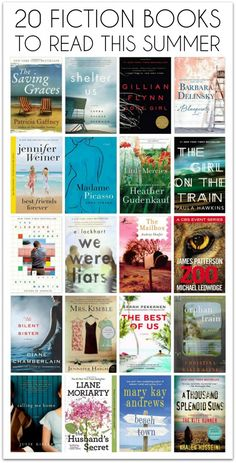 20 Fiction Books to Read THIS SUMMER
