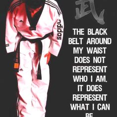 Taekwondo is always going to be apart of my life. Proud to be a black belt