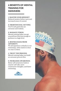 6 Benefits of Mental Training for Swimmers