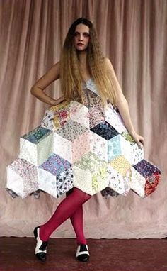 Fashion Link: Recycling- we have got to try this