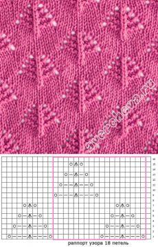 model ajurata 452 ușor |  model de tricotat cu ace director