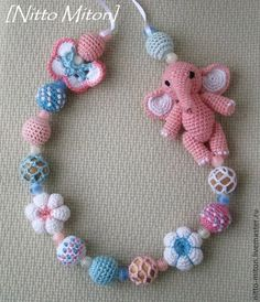 Handmade at The Baby Store Crochet Baby Mobiles, Crochet Baby Toys, Cute Crochet, Crochet Animals, Knit Crochet, Amigurumi Patterns, Crochet Patterns, Tooth Fairy Pillow, Baby Rattle