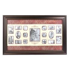 Spice Collage Photo Frame- Parent's 50th wedding anniversary gift