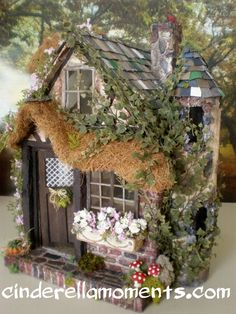 Cinderella Moments: Charmed Cottage Dollhouse