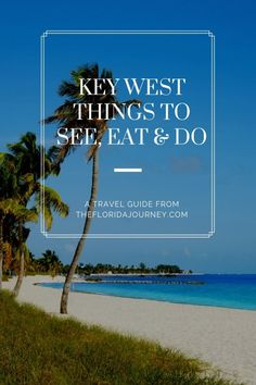 Planning a vacation to Key West? Weve got great insider travel tips as well as a list of 17 Amazing Things to See Eat and Do in Key West. And we promise they will make your vacation in the Florida Keys unforgettable. Key West Florida, Florida Keys, Florida Beaches, Florida Vacation, Florida Travel, Vacation Spots, Vacation Destinations, Key West Vacations, World Cruise