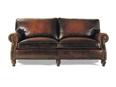 Shop for Hancock and Moore Member Apartment Size Sofa, 4106, and other Living Room Sofas at Hickory Furniture Mart in Hickory, NC. Excellent styling and brilliant design make this sofa a must-have addition.  A masterful blend of fashion and function allow you to have both key elements without sacrifice in the convenient form of this handsome sofa.