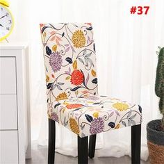 Decorative Chair Covers - Shipping Worldwide, Off Just Today, Refund Money Fully, Guarantee, Buy it now online from wowelo. Dining Room Seat Covers, Dining Room Chairs, Dining Furniture, Parson Chair Covers, Cheap Chair Covers, Soft Chair, Cheap Chairs, Stylish Chairs, Chair Backs
