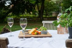 Beautiful terrace in the garden to enjoy al fresco dining