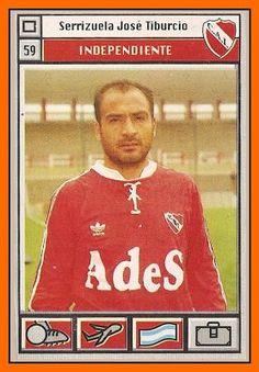 1995 Jose Serrizuela #59 Independiente de Avellaneda