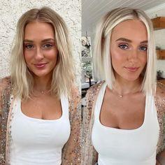 Blonde Lob Hair, Dark Blonde Bobs, Short Blonde, Lob Haircut, Lob Hairstyle, Pretty Hairstyles, Straight Hairstyles, Hot Hair Styles, Medium Hair Styles