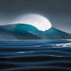 Perfect peak painting by Steve