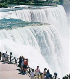 Niagra Falls, Canada One of my favorite places to go! Vacation Places, Vacation Spots, Places To Travel, Great Places, Places To See, Beautiful Places, Niagara Waterfall, Places Around The World, Around The Worlds