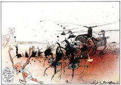 The Gonzo Art of Ralph Steadman