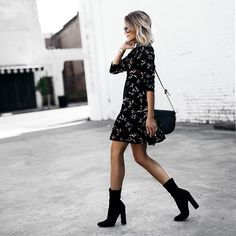 Mini dress fall style