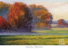 First Autumn Light Print by Amanda Houston at Art.com