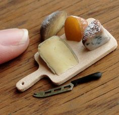 miniature cheese board