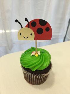 Ladybug Cupcake Toppers | Ladybug Birthday | Ladybug Party | Ladbug Cake Topper | Ladybug Decorations | Lasybug Theme | Lady bug