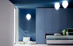 #Dormitorios infantiles con luz