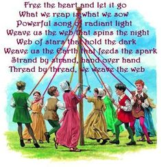 Happy May Day and Beltane blessings to you all. It's extremely hard for us all as we cannot gather to celebrate this wonderful day.