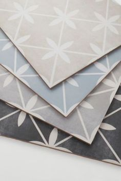 Laura Ashley Wicker Dove Grey Matte Porcelain Wall and Floor Tile - 13 x 13 in. Laundry Room Tile, Room Tiles, Bathroom Floor Tiles, Wall And Floor Tiles, Laura Ashley Floor Tiles, Newport House, Wall Exterior, The Tile Shop, Blue Floor