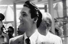 "satnin: Elvis Presley on the set of ""It Happened... - The Presleys"