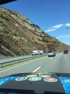 Syncline in Kentucky roadcut