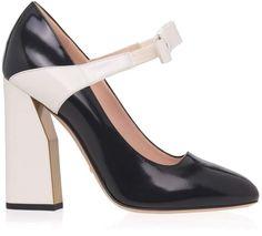 Mary Jane Bow Heels