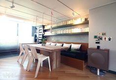 40 Great Creative ideas For Apartment Interior, Living Room Interior, Home Living Room, Living Room Designs, Resort Interior, Scandinavia Design, Interior Architecture, Interior Design, Vinyl Storage