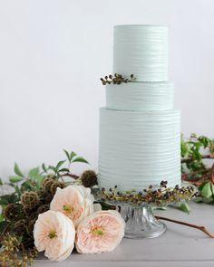Pastel Wedding Cakes, Textured Wedding Cakes, Metallic Wedding Cakes, Pastel Cakes, Rhinestone Wedding, Cake Wedding, Pink Icing, Peach Cake, Wedding Cake Inspiration