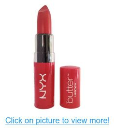 NYX Cometics Butter Lipstick BLS02 Sweet Tart - Deep Pink with Blue Undertone Net Wt. 0.16 oz (BLS02 Sweet Tart)