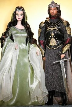 Barbie® and Ken® as Arwen and Aragorn in The Lord of the Rings