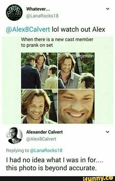 XD aw poor Alex. He's so tiny compared to moose. XD but omg that wicked face from Jared. Good luck. Aaw