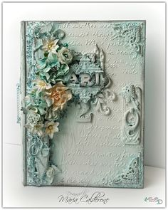 Mixed Media Art Prompt Box 2 by Maria Calderone