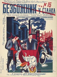 The gory and grotesque art of Soviet antireligious propaganda | Dangerous Minds