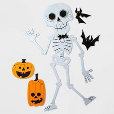 Halloween Stencils, Halloween Vector, Halloween Quilts, Halloween Crafts For Kids, Halloween Decorations, Holiday Crafts, Halloween Skeletons, Halloween Skull, Halloween House
