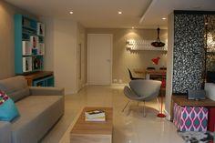 Apartamento descolado para um casal jovem!! Cajuí Design de Interiores